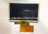 "Original 4.3"" inch LMS430HF12 LMS430HF12-003 GPS LCD display screen with touch screen digitizer panel"