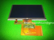 "Original 4.3""inch LMS430HF19 LCD screen + touch panel for TomTom XL IQ RATES GPS LCD display"